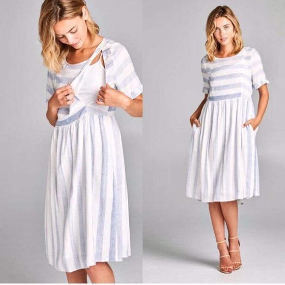 Roolee Dresses Nursing Friendly Dress Large Poshmark